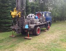 Wirth drilling rig Typ UH1