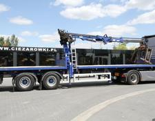 Sdc SEMI-TRAILER WITH CRANE TRAILERS LTD 13.6 M