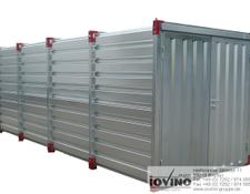 Iovino Materialcontainer 5x2 m Lagercontainer Werkzeugcontainer