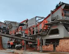 Constmach 250 tph CAPACITY MOBILE VSI CRUSHER   READY AT STOCK!