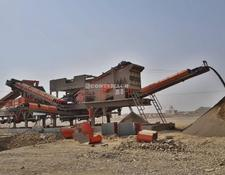 Constmach 250-300 tph CAPACITY PORTABLE CRUSHING & SCREENING PLANT