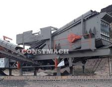 Constmach DELIVERY FROM STOCK, 250 tph CAPACITY MOBILE JAW AND IMPACT CRUS