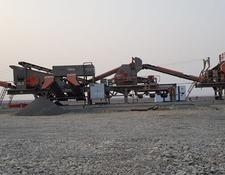 Constmach PREMIUM QUALITY, 250 tph CAPACITY MOBILE CRUSHING PLANT