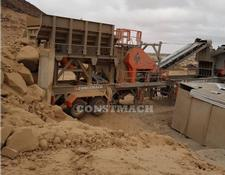 Constmach 250 tph CAPACITY MOBILE CRUSHING AND SCREENING PLANT