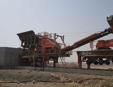 Constmach MOBILE JAW and IMPACT CRUSHER, 2 YEARS WARRANT, 150 tph CAPACITY