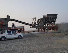 Constmach 120-150 tph CAPACITY MOBILE JAW and IMPACT CRUSHER