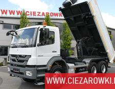 Mercedes-Benz Axor 2633 6x4 / 90,000km ! / 2-side tipper / hydroboard /
